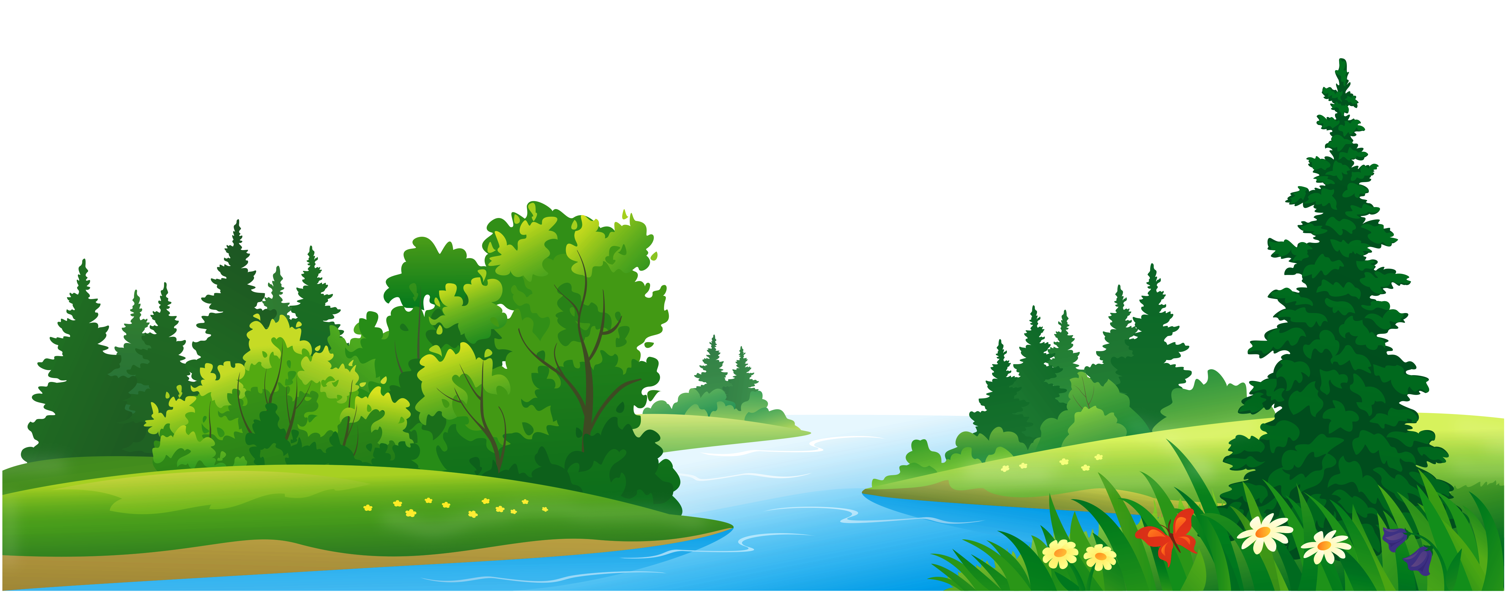 forest-clipart-lake-clip-art-rainforest-clipart